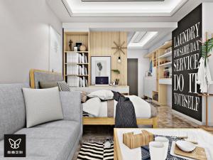 百老汇公寓设计案例-单身贵族