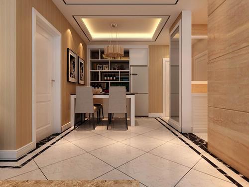 大户型斜铺地砖装修图,灵动空间要你好看!