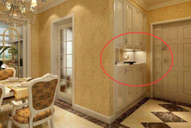玄关可以不止是鞋柜,这样装修,玄关也可以成为家里的亮点