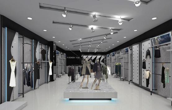 服裝展示柜尺寸一般是多少 服裝展示柜怎么設計