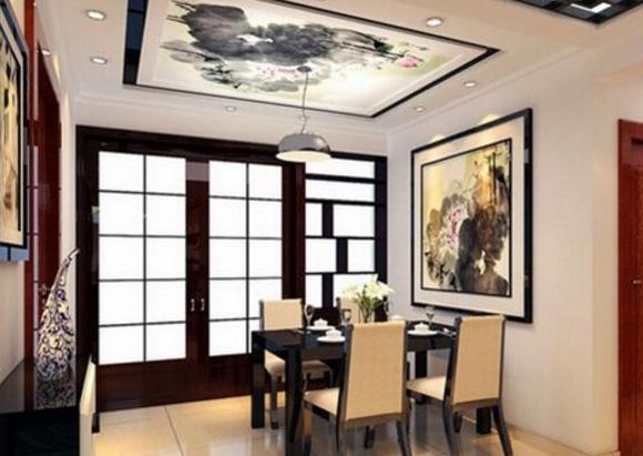 入戶餐廳裝飾掛風水畫有哪些風水講究